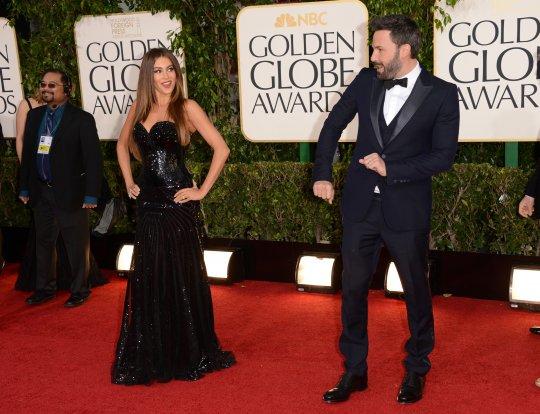 Sofia Vergara golden globe 2013