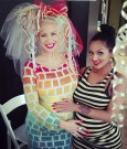 amber rose and lola monroe baby bumps
