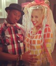 amber rose baby shower 2