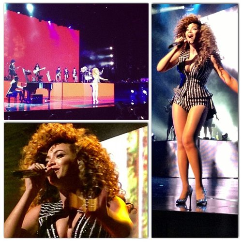 beyonce perform live vegas 2