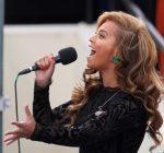 beyonce singing national anthem