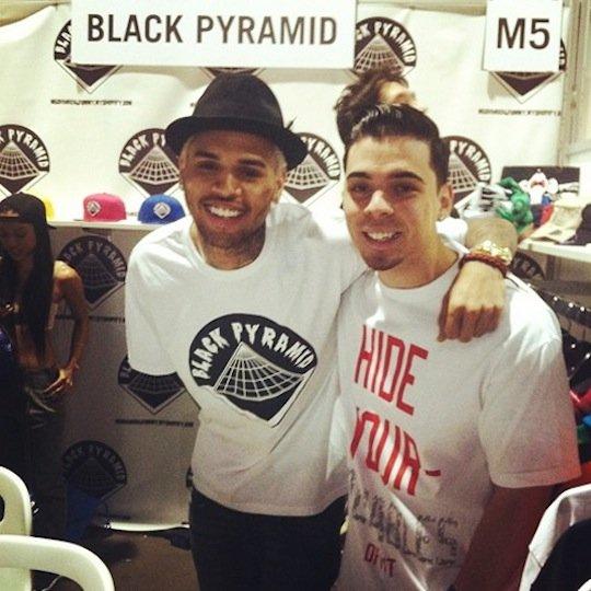 black pyramid chris brown