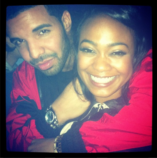 drake dating tatyana ali 2013