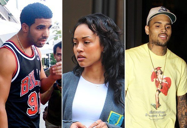 drake karrueche tran chris brown