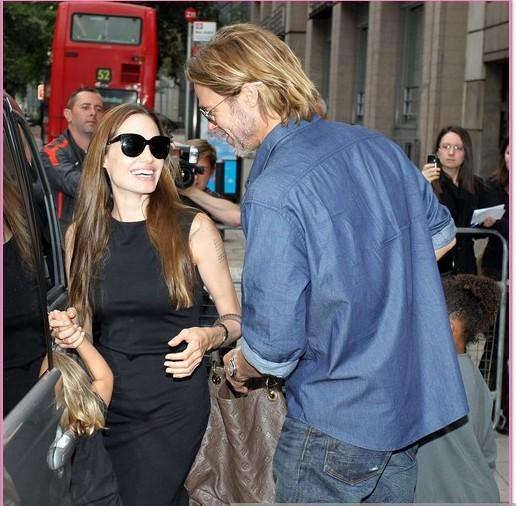 The Jolie-Pitt Family 2013