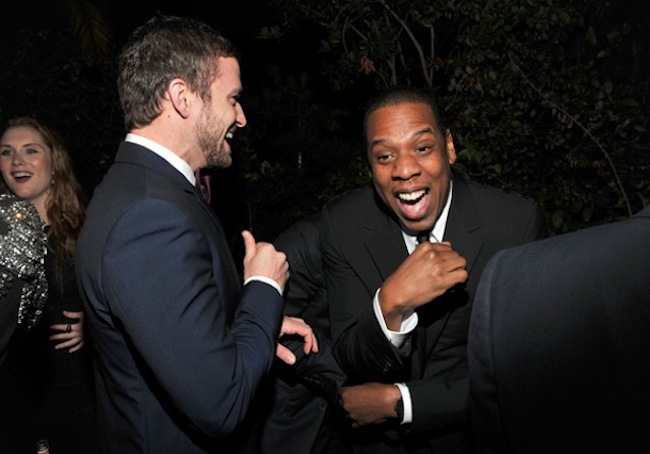 justin timberlake and jay-z suit