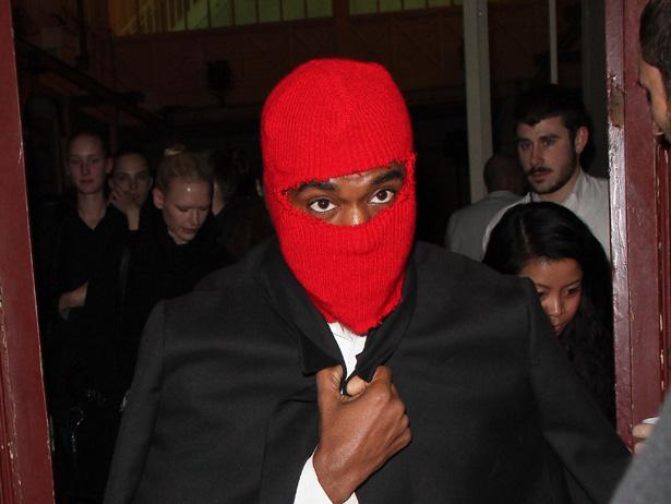 kanye mask pic 2013