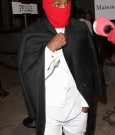 kanye west red ski mask