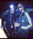 mavado and snoop lion on set lighters up video shoot