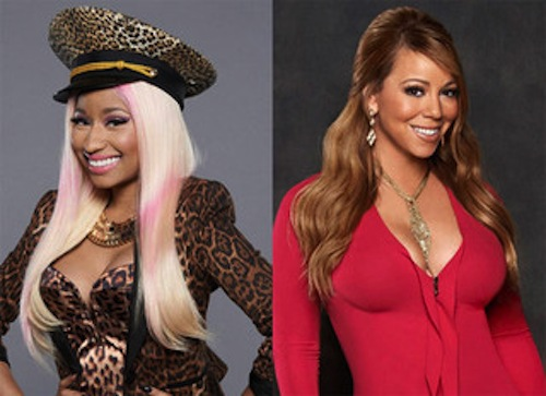 nicki and mariah 2013