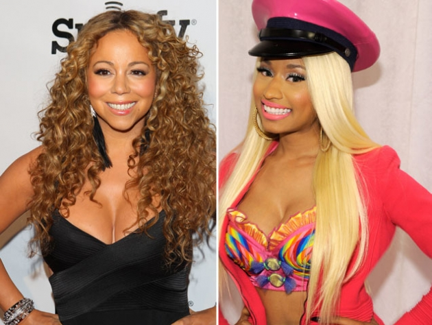 nicki and mariah feud