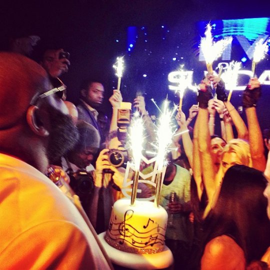 rick ross birthday party 2013
