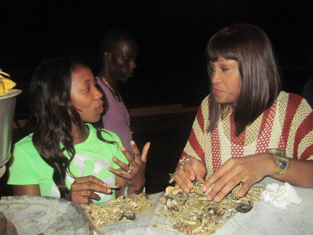 shelly-ann fraser and eve jamaica