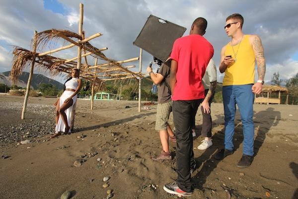 tiana music video shoot
