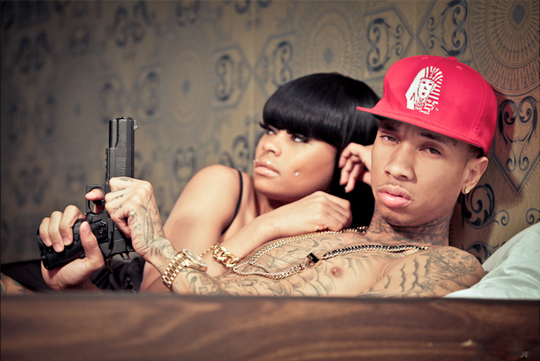 "Tyga Says His Relationship With Blac Chyna Is ""Gangsta"" [VIDEO]"