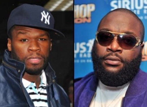 50 Cent Clowns Rick Ross On Twitter After Shooting [DETAILS]