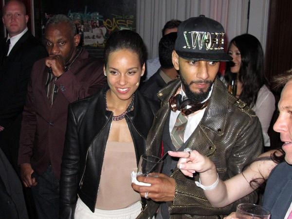 Alicia Keys Swizz Beatz Grammy After party