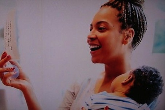 Beyonce Baby Blue Ivy