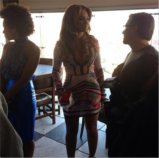 Beyonce pre grammy party