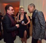 Bono Diana Jenkins and Chris Brown