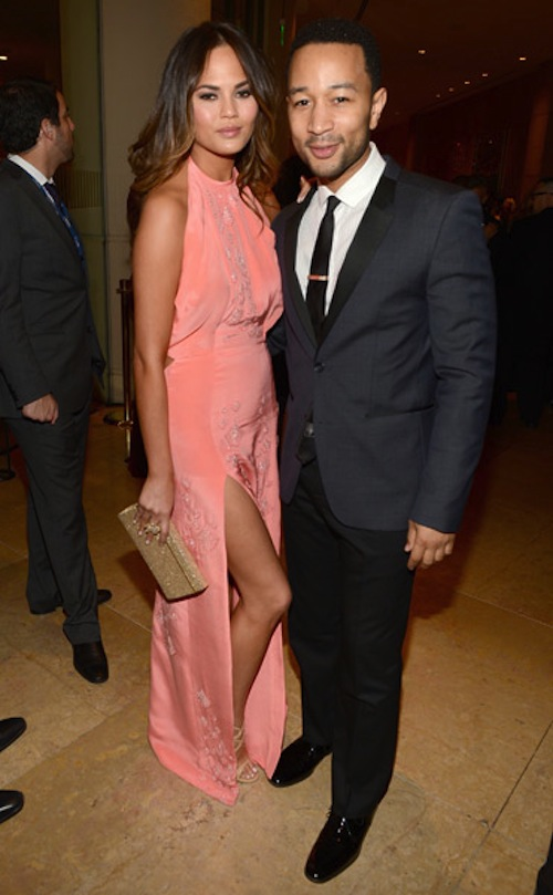 CHRISSY TEIGEN JOHN LEGEND grammy gala
