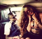 Rihanna and Chris hawaii 2013 photo