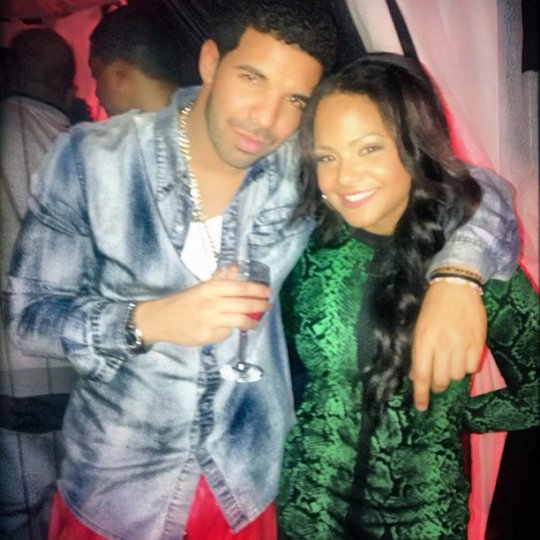 Drake Christina Milian Grammy After Party