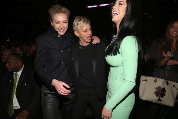 Ellen Katy Perry Grammys