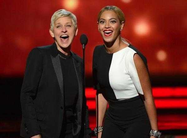 Ellen and Beyonce Grammys