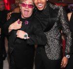 Elton John and Chris Brown