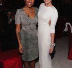 Emeli and Miley Cyrus