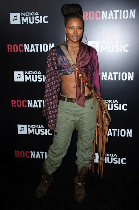 Eva Marcille roc nation garmmy party