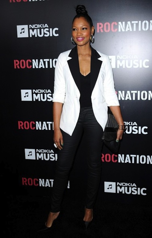 Garcelle Beauvais roc nation grammy party