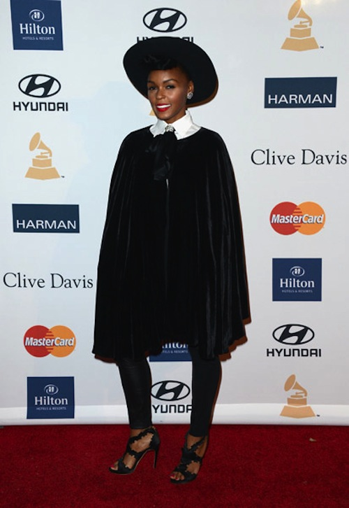 JANELLE MONAE Grammy Gala
