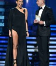 Jennifer Lopez Legs at the Grammys