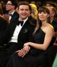 Justin Timberlake and Jessica Biel Grammys