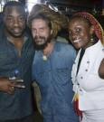 Malik Yoba Mathias and Jenny Jenny