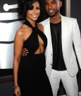 Nazanin Mandi and Miguel Grammy 2013