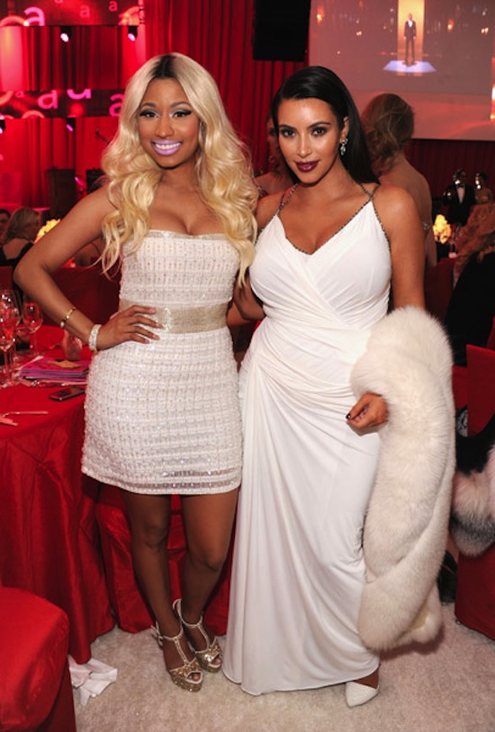 Nicki Minaj and Kim Kardashian