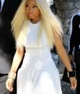 Nicki Minaj blonde white 23022013