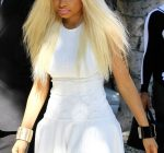 Nicki Minaj blonde white 23022013