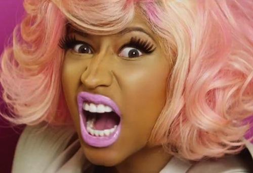 Nicki Minaj scream