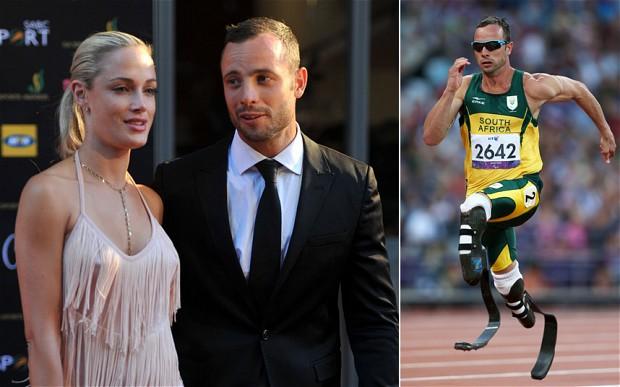 Oscar Pistorius Murder girlfriend