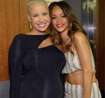 Rihanna and Amber Rose