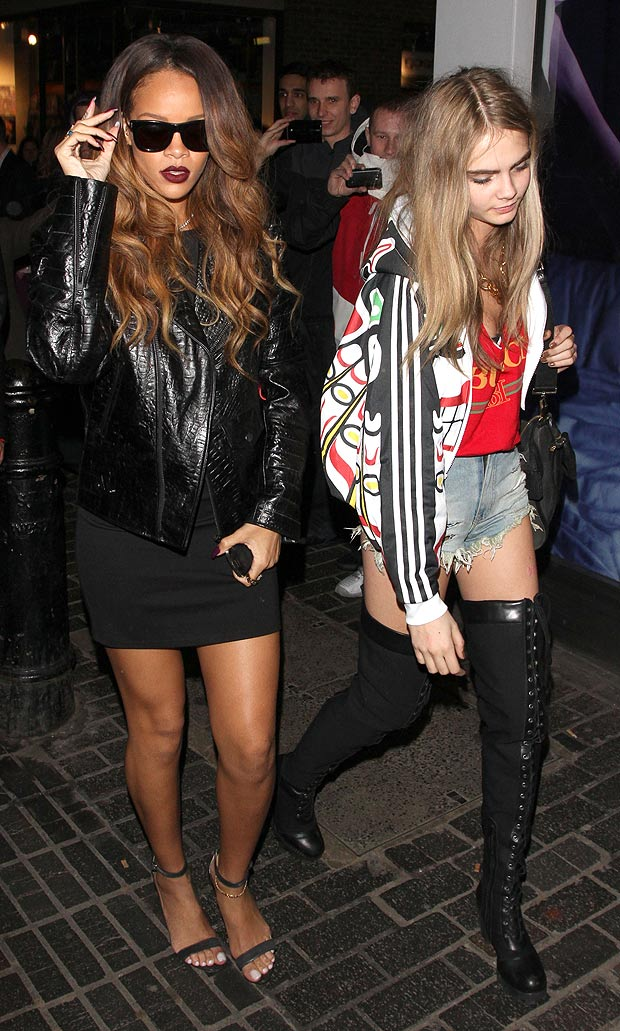 Rihanna and Cara Delevingne 2013