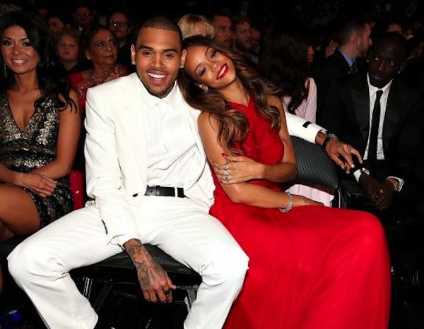 Rihanna chris brown cuddle grammy 2013