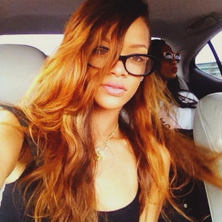 Rihanna glasses