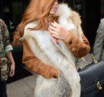 Rihanna shave head NYC 1