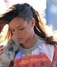 Rihanna shaved head 2013