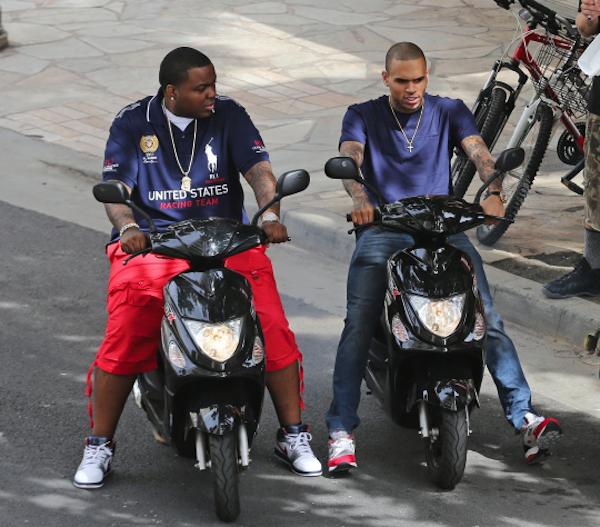Sean Kingston and Chris Brown 4